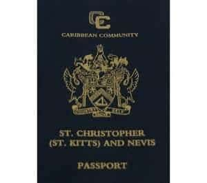 Passport of St. Kitts and Nevis