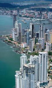 Grande rascacielos en Cuidad de Panamá