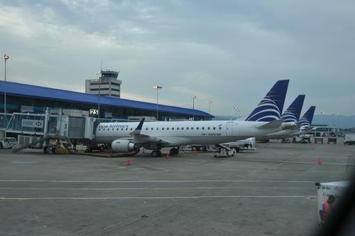 Tocumen Int' Nacional aeropuerto en Panamá