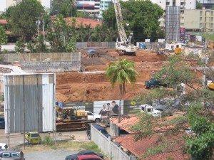 La construcción está ocurriendo en todas partes