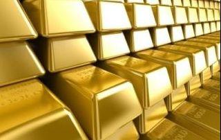 Oro en una bóveda