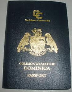 segundo pasaporte en dominica