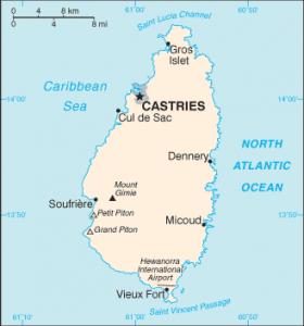 ciudadanía en Santa Lucía