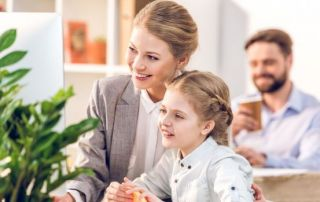 Concepto negocio familiar