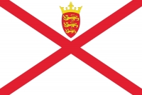 Flag of Jersey.