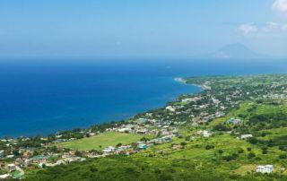 Panorama de paraíso caribeño