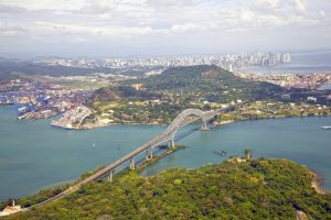 Vista aérea de la Ciudad de Panamá