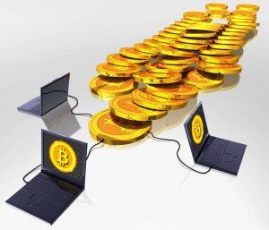Conjunto de computadoras conectadas a la blockchain