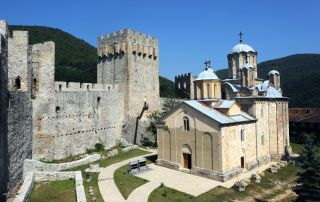 Monasterio ortodoxo serbio, Despotovac, Serbia