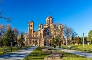 Iglesia de San Marcos, Belgrado, Serbia