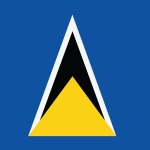st lucia Flag for Independence Day