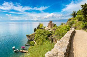 Iglesia de Jovan Kaneo, Ohrid, República de Macedonia